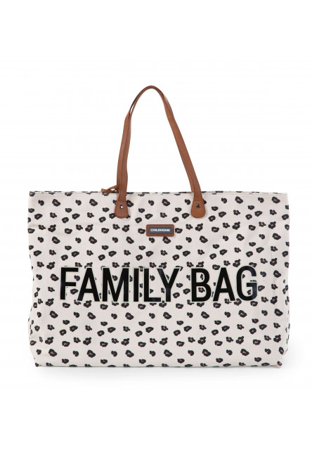 Cestovná taška Family Bag Canvas Leopard Childhome